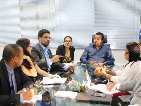 Em reunião com Segets, presidente Manoel Neri defendeu maior controle sobre abertura de cursos de Enfermagem